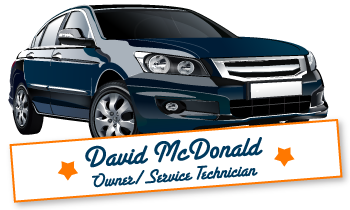 David McDonald Owner/Service Technician